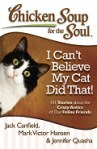 Book cover for I Can't Believe My Cat Did That