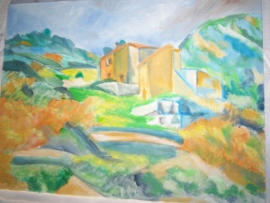 Cezanne's Houses in Provence