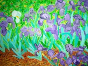 VanGogh's Irises