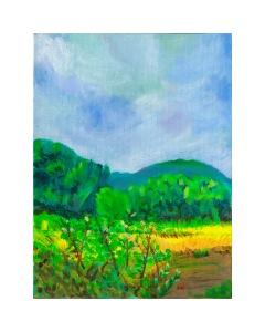 Vibrant Hillside
